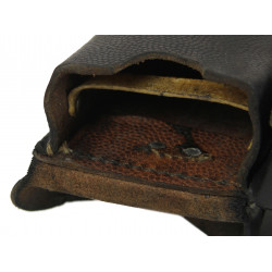 Pouchs, Cartridge, Leather, Mauser
