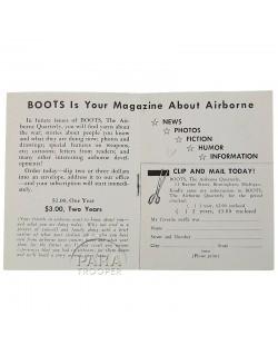 Magazine BOOTS