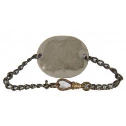 Chain Bracelet, Dog Tag, War Department, 1943