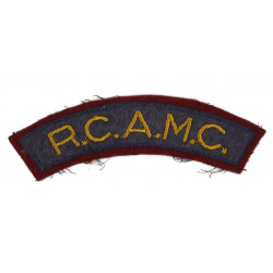 Title, Royal Canadian Army Medical Corps