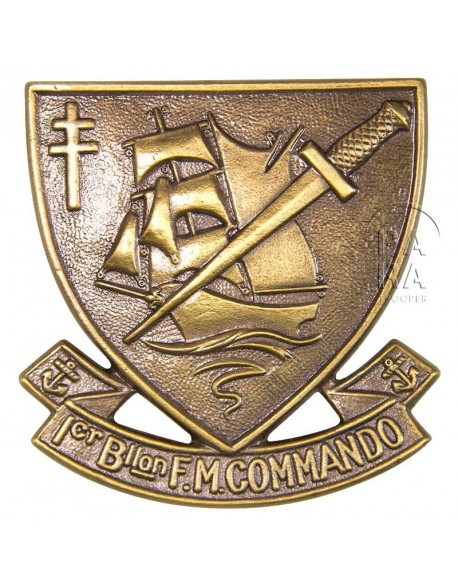 Cap badge, N° 4 Commando