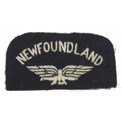Insigne d'épaule, Newfoundland, Royal Air Force, RAF