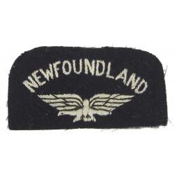Shoulder patch, Newfoundland, Royal Air Force, RAF