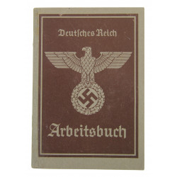 Booklet, Arbeitsbuch, Named, Alsatian, 1941