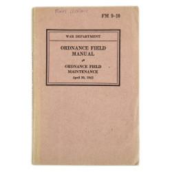 Field Manual 9-10, Ordnance Field Manual, 1942
