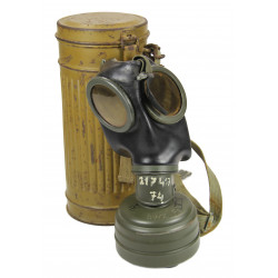 Mask, Gas, German, Tropical, Normandy