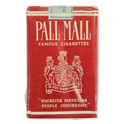 Cigarettes, Pall Mall, Pack