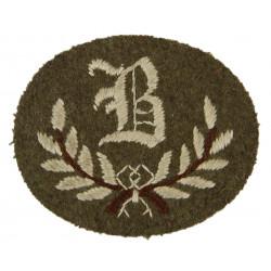 Badge, B Tradesman