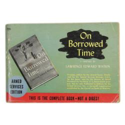 Novel, US Army, On Borrowed Time, 1937