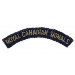 Shoulder Title, Royal Canadian Signals