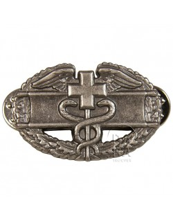 Badge, Combat, Medic, US