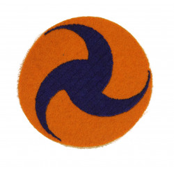 Patch, US Army Air Corps, Pinwheel, Felt