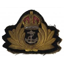 Insigne de casquette officier, Royal Navy, Economy
