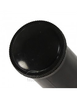 Vial, Hard Rubber, ½ Oz., Black
