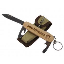 Couteau multifonction, bois, D-Day Experience