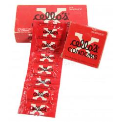 Boîte de préservatifs, Cello's