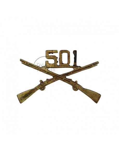 Insigne de col 501e PIR