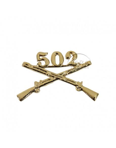 Insigne de col 502e PIR
