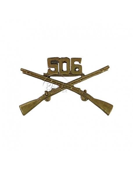 Insigne de col 506e PIR