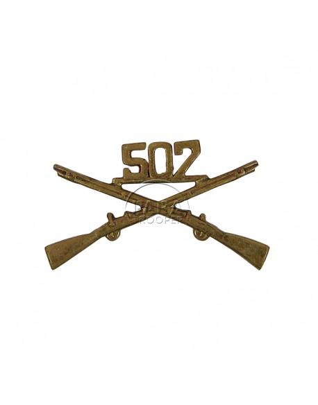 Insigne de col 507e PIR