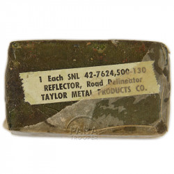 Reflector, Road Delineator, Taylor Metal Products Co.