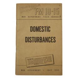 Field Manual, FM 19-15, Domestic Disturbances, 1945