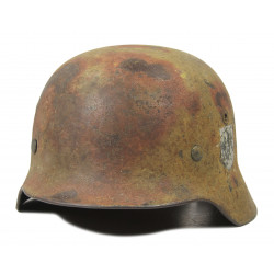 Helmet, M35, Two-tone Camouflage, Holed