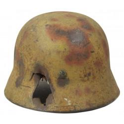 Helmet, M35, Two-tone Camouflage, Holed