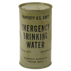 Can, Water, Drinking, Emergency