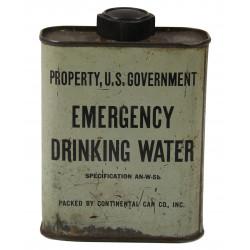 Flask, Water, Drinking, Emergency, USN / USAAF
