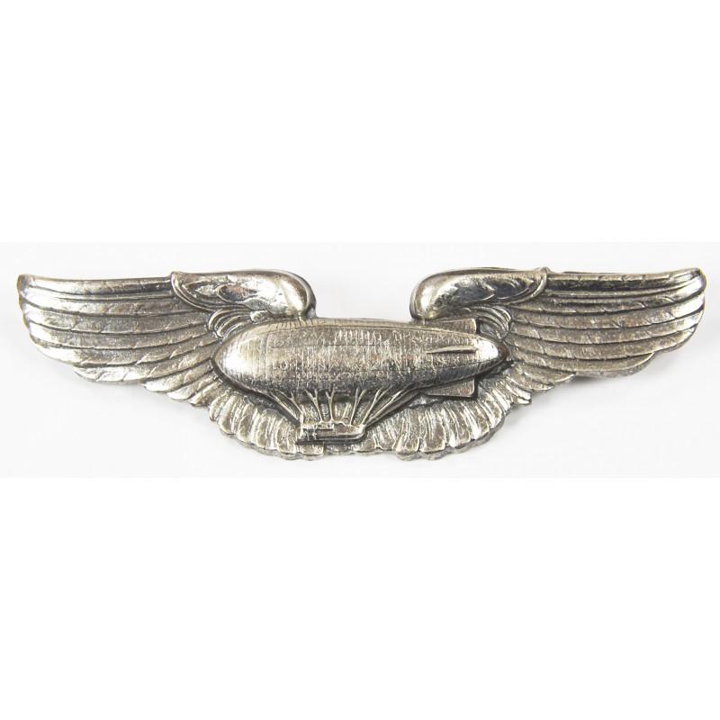 Brevet d'Airship Pilot, USAAF, Sterling, N.S. Meyer