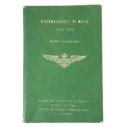 Booklet, Instrument Flight, US Navy, 1943