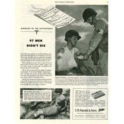 Ad, Squibb & Sons, Sulfanilamide, 1943