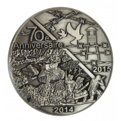 Medal, Commemorative, 60th D-Day anniversary and liberation of camps (2014-2015)