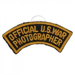 Patch, Official US War Photographer