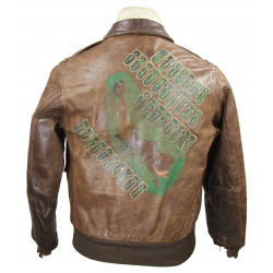 Jacket, Leather, A-2, 8th Air Force