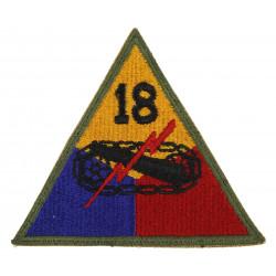 Insigne 18e division blindée US