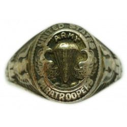 Ring, US Army Airborne, Sterling