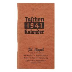 Calendar, Pocket, German, 1941
