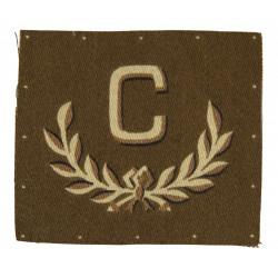 Badge, C Tradesman, Printed