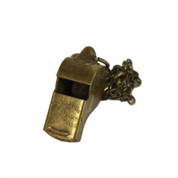Whistle, Brass, Regulation U.S. Army