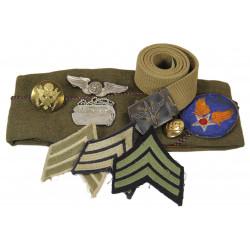 Grouping, Sgt. Raymond Vander Geeten, USAAF