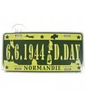 Plaque de véhicule US D-Day