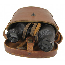 Binoculars, 6x30, and carrying case, 1942