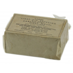 First-aid dressing, US Army, Large, Bay Division