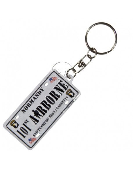 Key Ring, plate, 101st