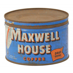Box, Coffee, Maxwell House