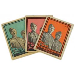 Set of 3 song books, Das Neue Soldaten Liederbuch
