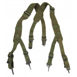 Supenders, Pack, Field & combat, M-1944