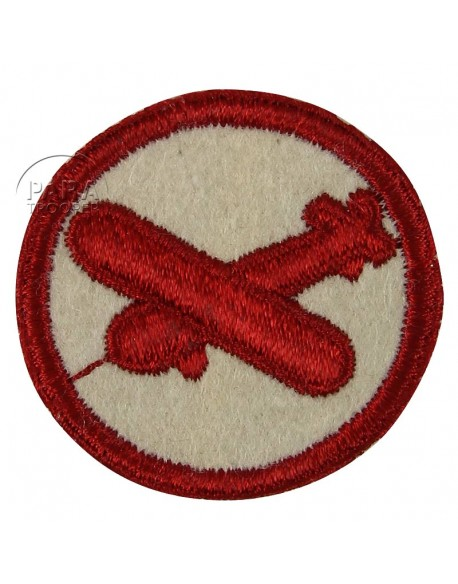 Patch, Cap, Glider, felt, enlisted man
